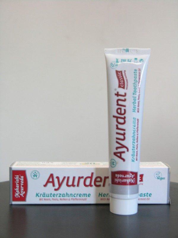 ayurvedische Zahncreme