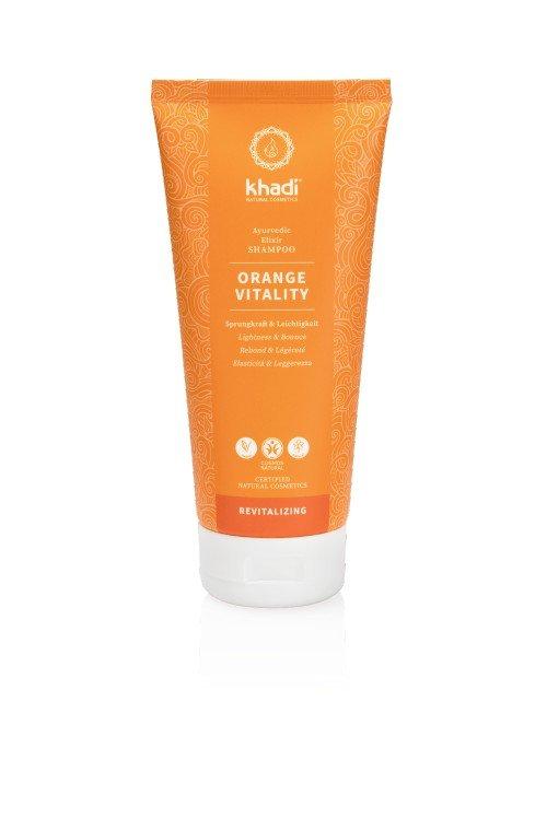khadi Shampoo orange vitality