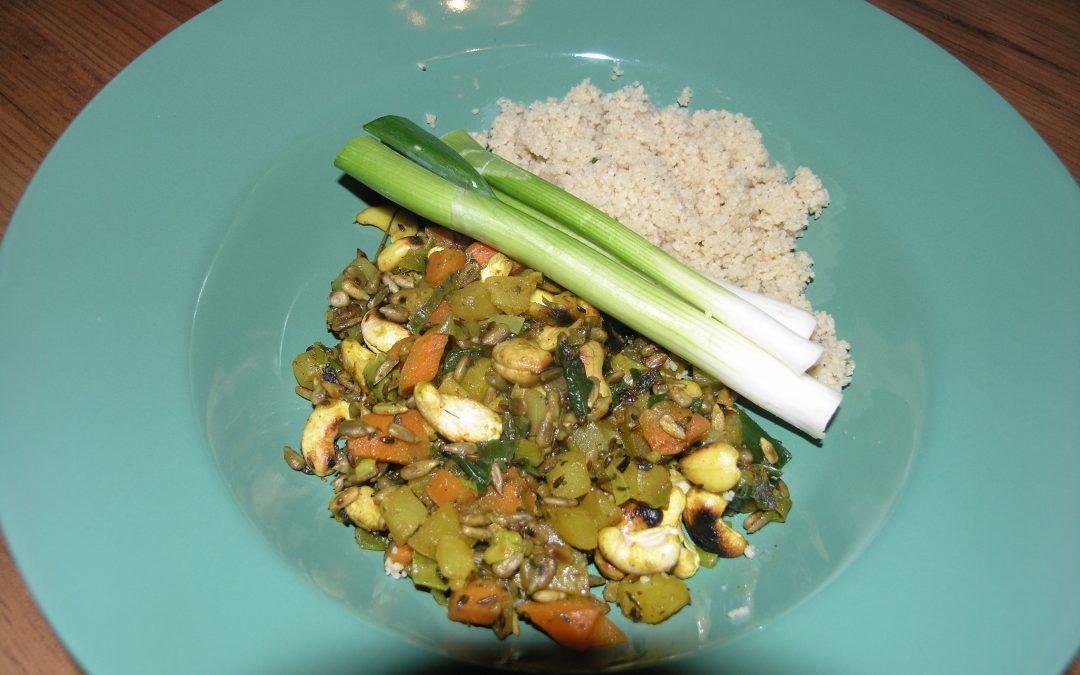 ayurvedisches Gericht