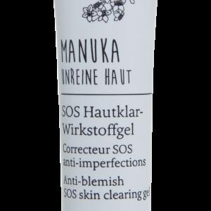 farfalla Manuka_Unreine Haut_SOS Hautklar-Wirkstoffgel