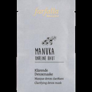 farfalla Manuka_Unreine Haut_Klaerende Detoxmaske