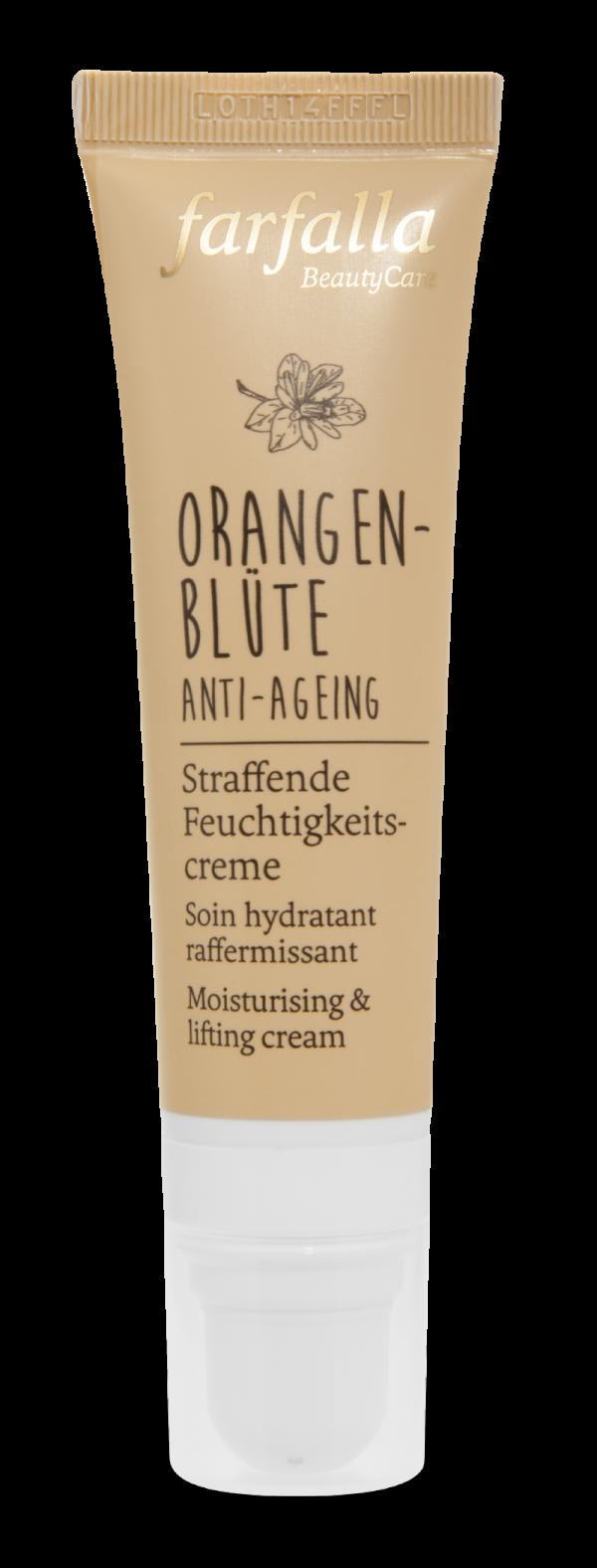 farfalla Orangenbluete_Anti-Ageing_Straffende Feuchtigkeitscreme_