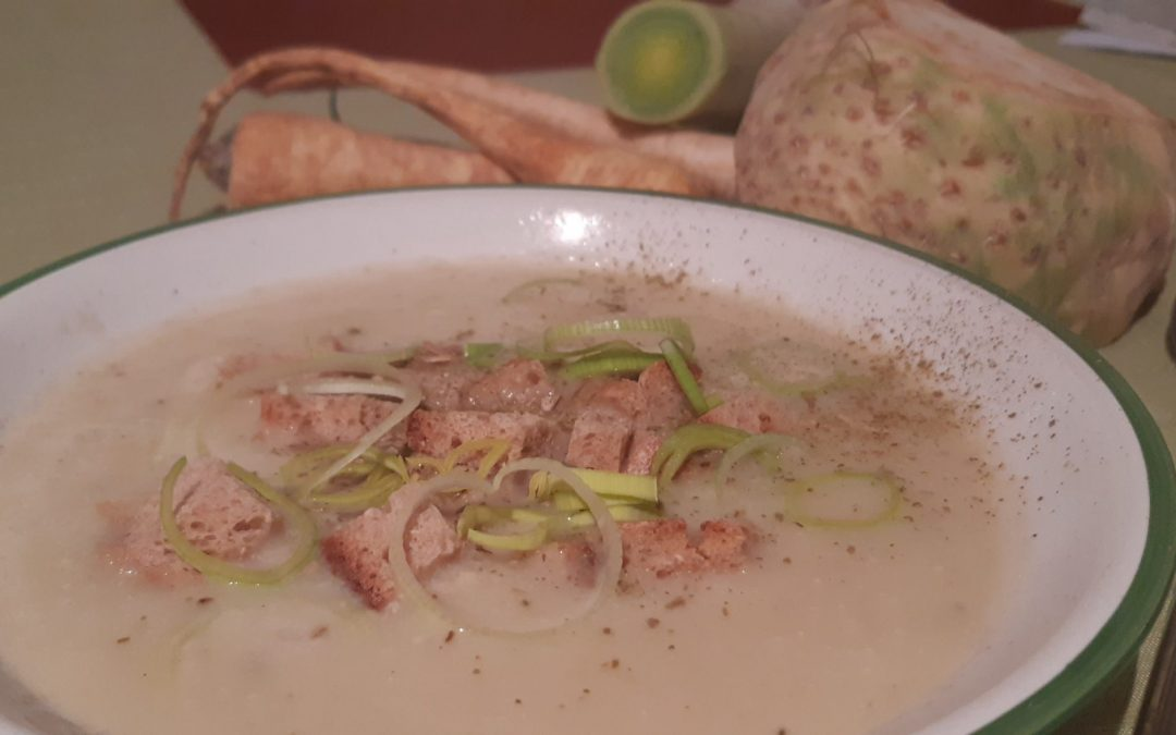 Rezept: Ayurvedische Pastinackensuppe