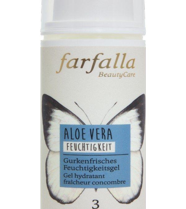 farfalla Aloe Vera_Gurkenfrisches Feuchtigkeitsgel_Feuchtigkeit