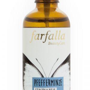 farfalla Bio-Pflanzenwasser_Pfefferminze_Feuchtigkeit