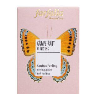 farfalla Grapefruit_Reinigung_Sanftes Peeling_Schachtel