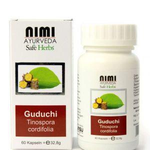 Guduchi - Tinospora cordifolia - Kapseln nimi