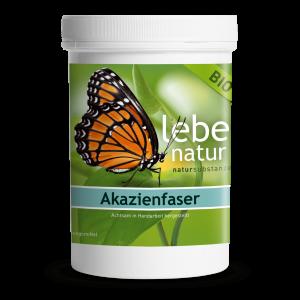 lebe natur® Akazienfaser Pulver BIO 360 g-min
