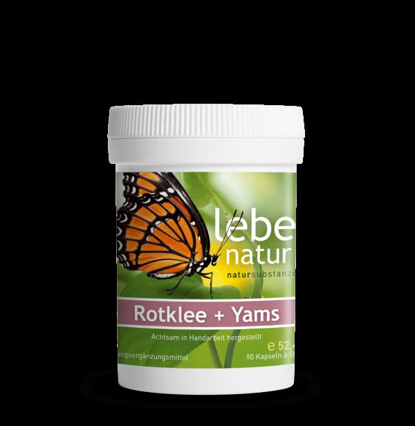 lebe natur® Rotklee + Yams 90er-min