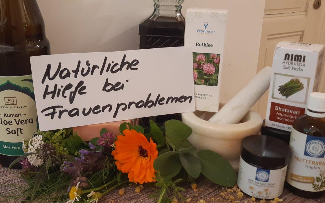 Natürliche Hilfe bei Frauenprobleme