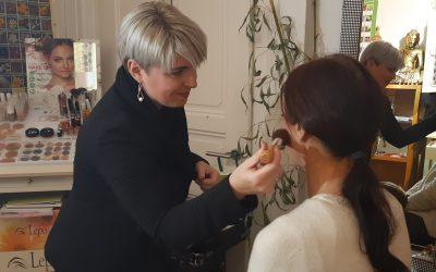 Kostenlose Make-up Beratung mit der Profivisagistin von der Fa. Lepo