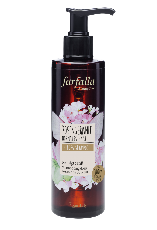Farfalla Shampoo Rosengeranie