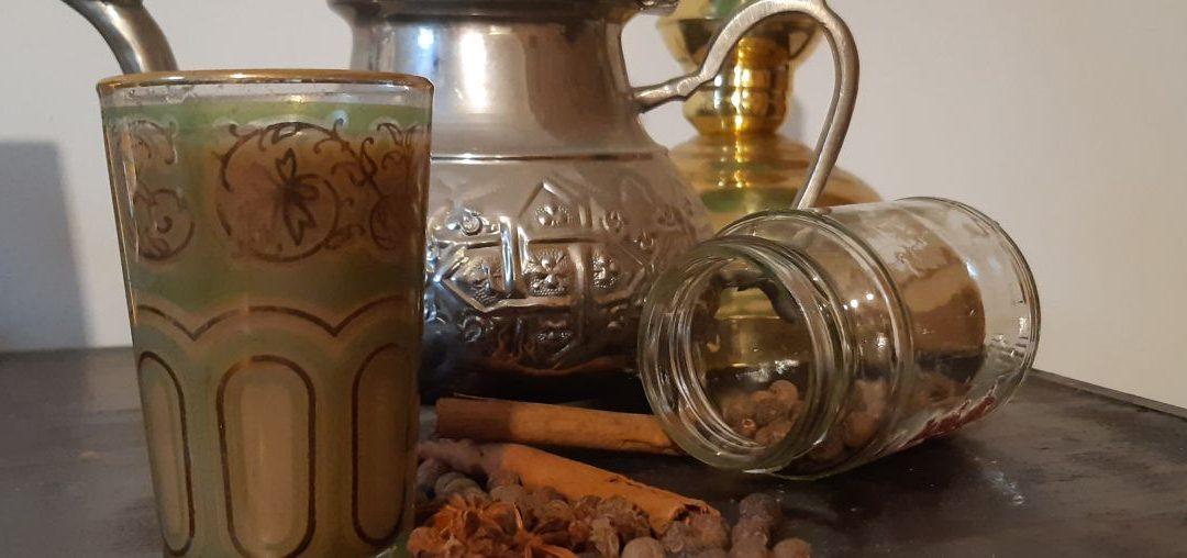 Der Chai ein indisches Getränk