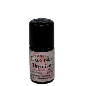 100% naturreines ätherisches Thymian-Öl rot