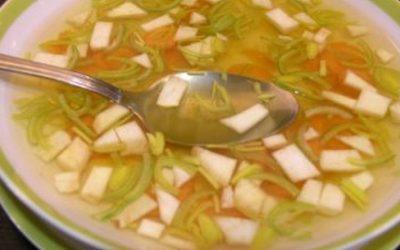 Rezept:  Basische Gesmüsesuppe