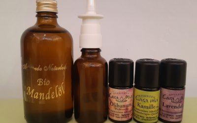 DIY Rezept: Heuschnupfen Nasenspray selber machen