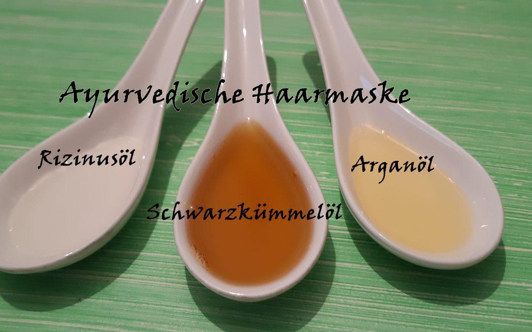 ayurvedische Öle für Haarmasken