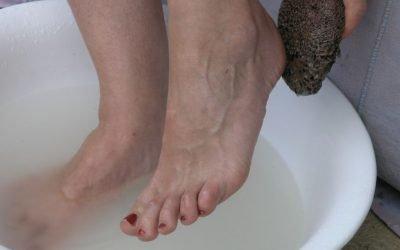 Wie wäre es mit einem Wellnessprogramm für deine Füße?