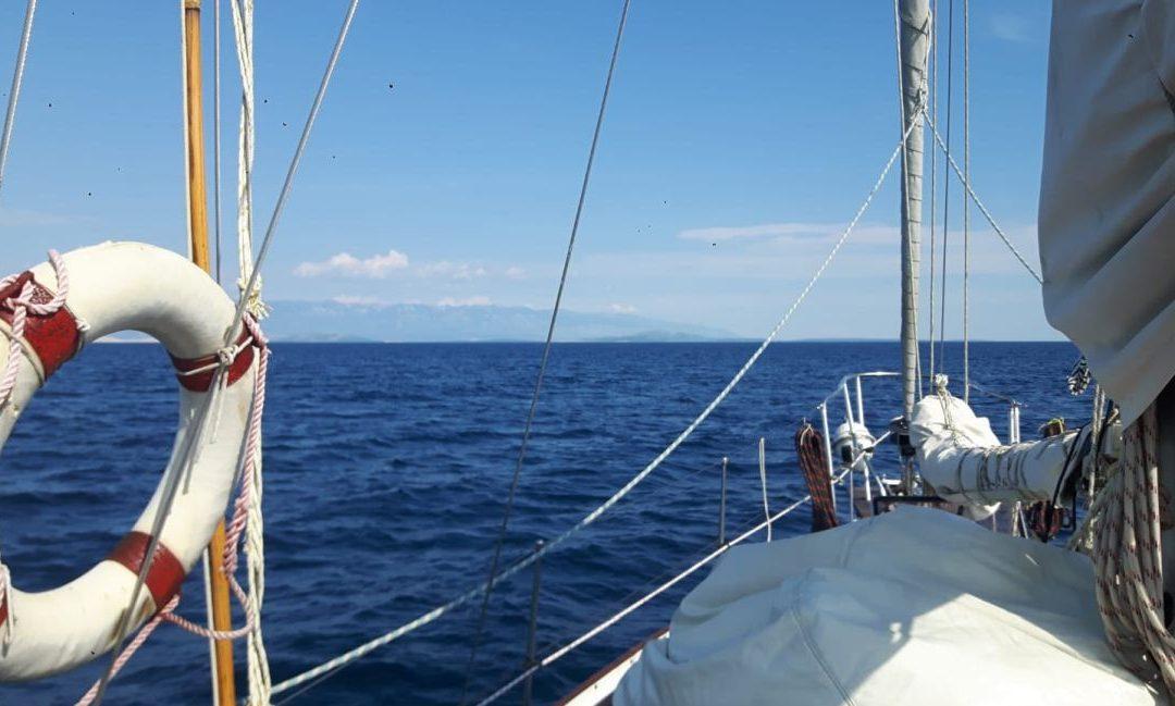 Urlaub auf dem Segelboot
